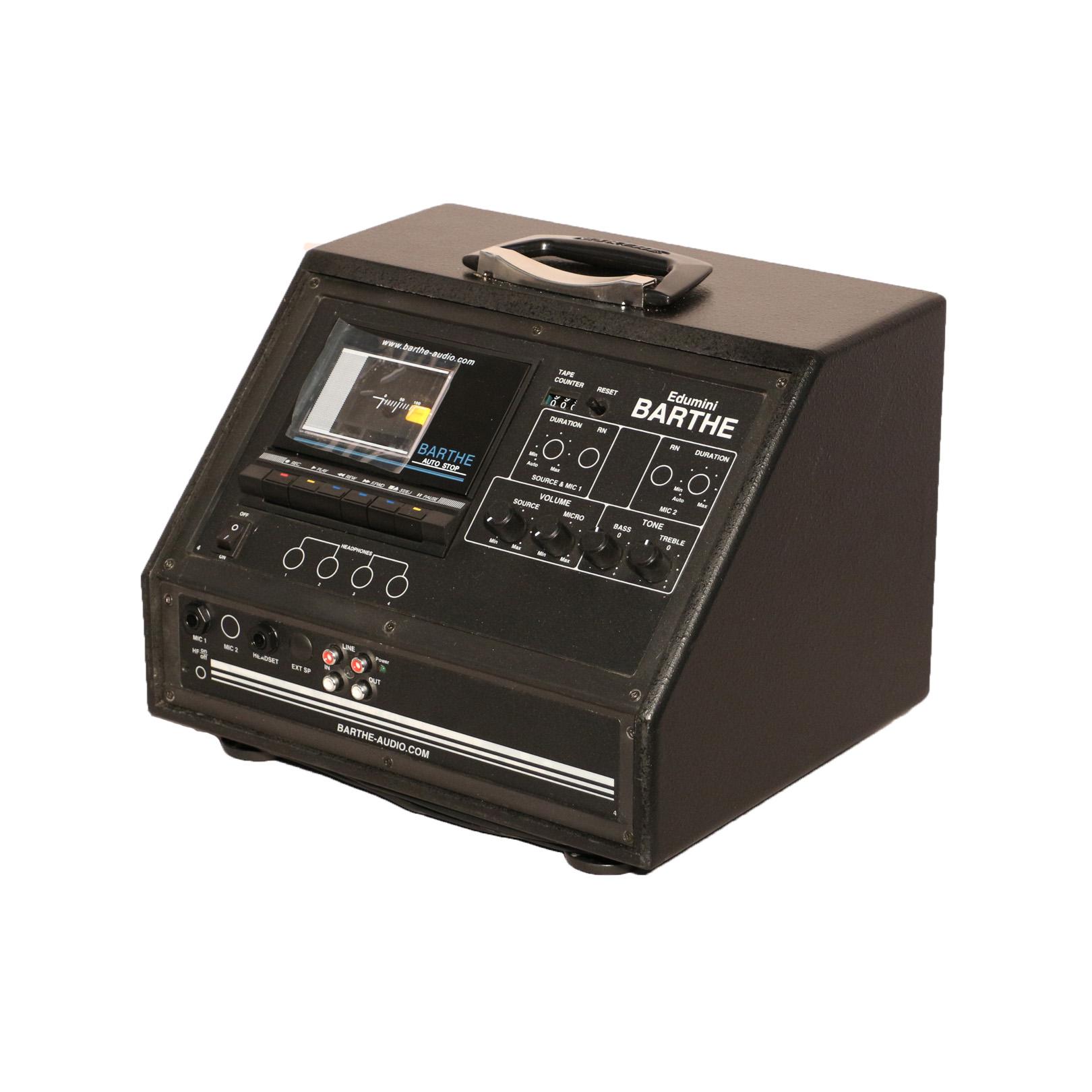 ed 001 edumini cassette lect cassette 23 watt rms barthe. Black Bedroom Furniture Sets. Home Design Ideas